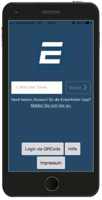 Eckenfelder Connect - Smartphone Login