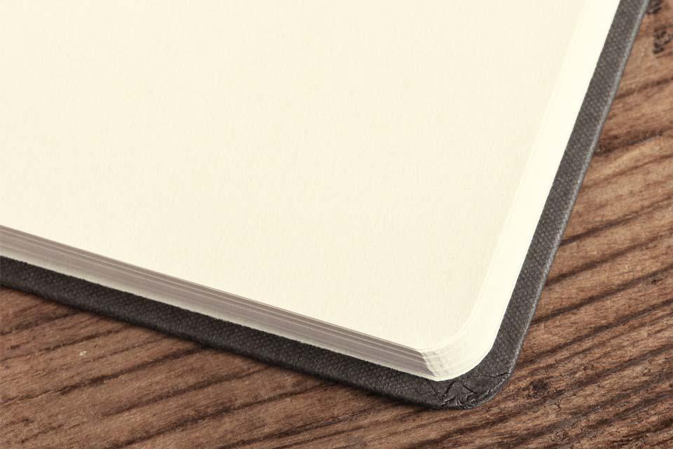 Notizbücher - Buchblock blanko