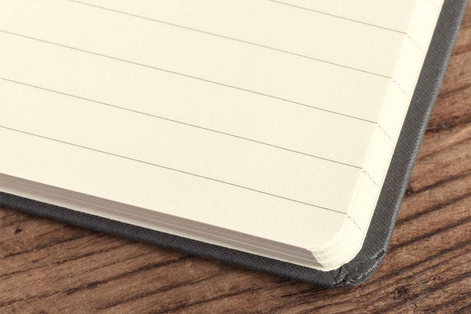 Notizbücher - Buchblock liniert