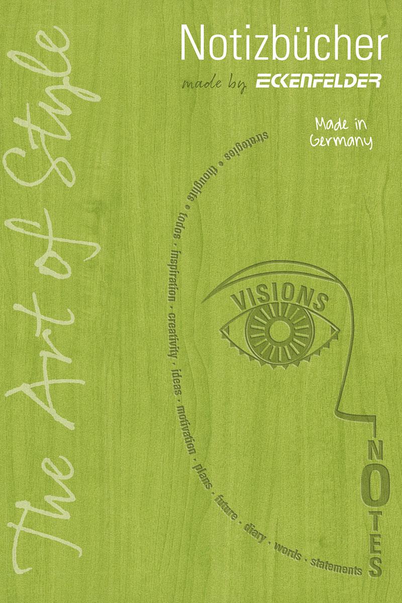 Eckenfelder Broschüre Notizbücher 2021 - Täglicher Begleiter für alles Handgeschriebene